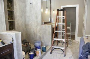 bathroom refacing project