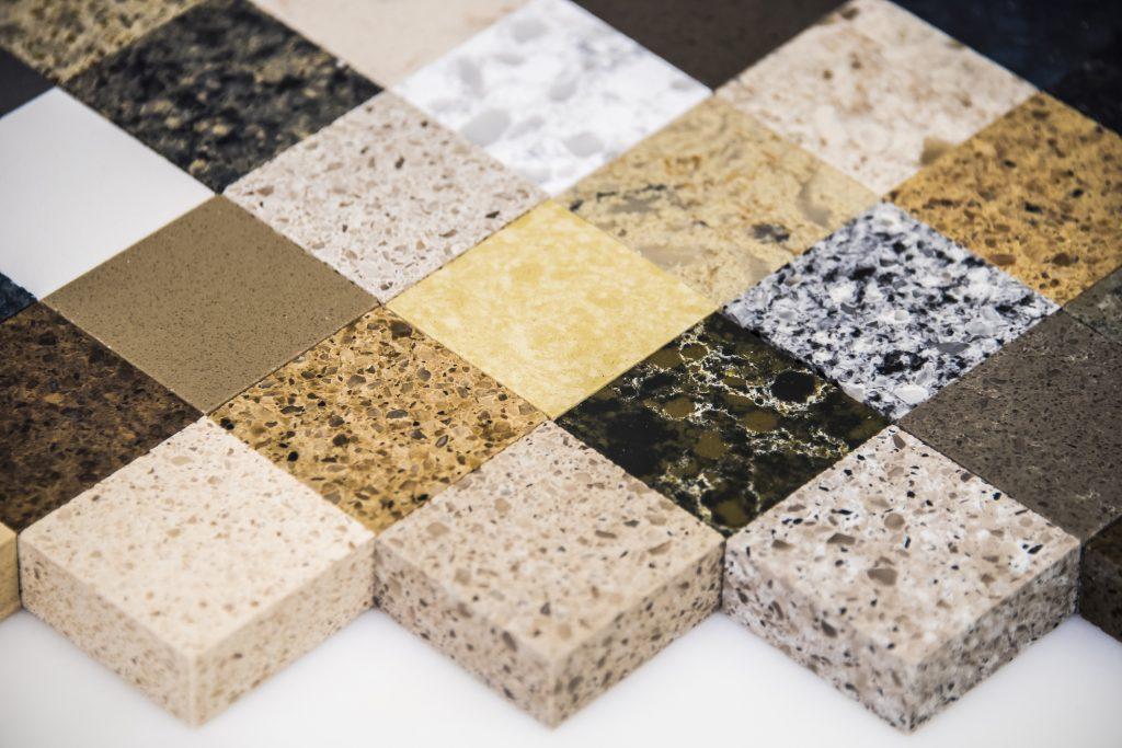 samples of kitchen countertops