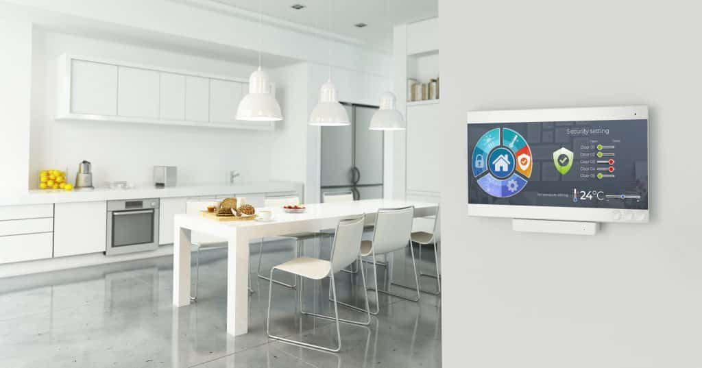 A refaced smart kitchen